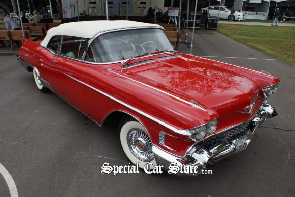 1958 Biarritz Wins Best in Class at Art Center Car Classic Inspired Design
